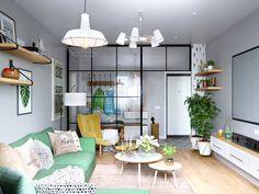 Un appartement coloré et joyeux à St Petersbourg - PLANETE DECO a homes world Best Living Room Design, Living Room Designs, Living Room Decor, Bedroom Furniture Sets, Furniture Design, Furniture Stores, Furniture Buyers, Furniture Cleaning, Furniture Nyc