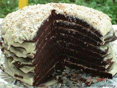 кекс шоколадный на кефире рецепт с фото