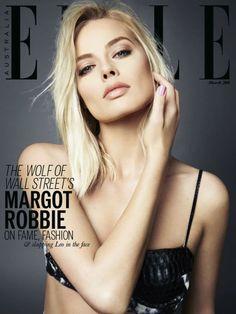 """TEEN WOLF"" ;) Margot Robbie covers Elle Australia - March 2014"
