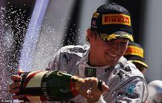 Nico Rosberg wins the British GP 2013