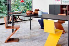 La silla Zig Zag en el diseño de interiores
