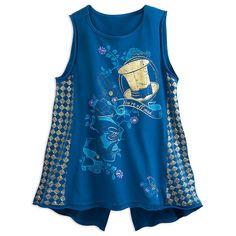 Disney Store Alice in Wonderland Mad Hatter Fashion Womens Top T Shirt XL XXL | eBay