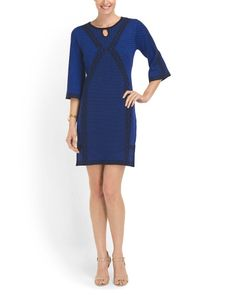 Printed Knit Sweater Dress - for colder days @tjmaxx