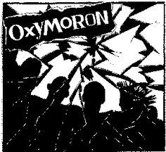 Oxymoron ''band'' Patch $1.45 #punk #music #punkpatches #clothing www.drstrange.com
