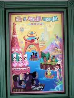 It's A Small World Poster   It's a Small World poster