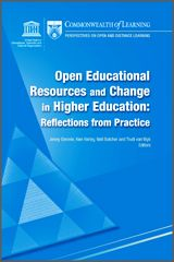 Commonwealth of Learning - Perspectives on Open and Distance Learning: Open Educational Resources and Change in Higher Education: Reflections from Practice via Conole Educational Websites, Educational Technology, Commonwealth, List Of Websites, Web 2.0, Learning Courses, Reading Material, Teaching Materials, Higher Education
