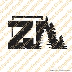 Jeep Cherokee ZJ with Trees Decal by GraphicForest on Etsy