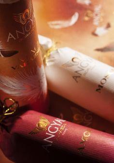 Angyal bor sor - díszcsomagolt - Borcsomagolás
