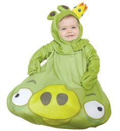 Green King Pig Infant Costume