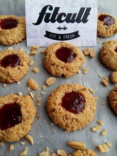 Chrumkavé arašidovo-džemové sušienky, ktorých sa nebudeš môcť nabažiť (Recept) Stevia, Healthy Cooking, Doughnut, Fitness, Fresh, Cookies, Desserts, Food, Basket
