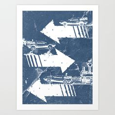 Back to the Future Minimalist Poster Art Print by Jamie R. Stone - $20.00