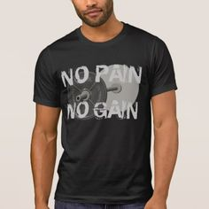 Shop No Pain No Gain Barbell Weightlifting T-Shirt created by Baysideimages. Personalize it with photos & text or purchase as is! Shirt Print Design, Barbell, Weight Lifting, Tshirt Colors, Fitness Models, Gain, Casual, Sleeves, Mens Tops