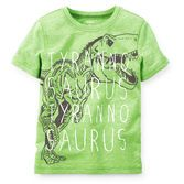 He'll have colossal adventures in this tyrannosaurus tee.<br>