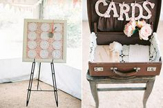 Mariage juin 2014 on pinterest plan de tables coiffures and marque place - Mariage champetre chic ...