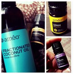 www.bobbi.myzija.com Ameo Essential Oils Tip#2: Have a scar that you want to banish? I've had 4 conversations about this in the last week so sharing this amazing smelling serum I'm using! Mix together 2 pumps of Améo fractionated coconut oil (carrier oil), 6 drops of true lavender (regenerates skin cells), 6 drops of Lemon (fades dark spots) and 6 drops of frankincense (skin healing properties). Add these in a glass bottle and massage into skin!
