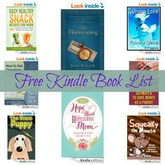 Free Kindle Book List: Hope for the Heart of the Homeschool Mom, The Homecoming, and More!!