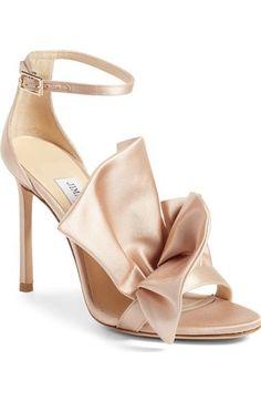 Jimmy Choo Kami Ruffle Sandal (Women) available at #Nordstrom
