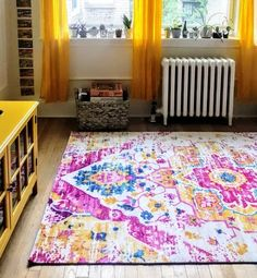 A Bold Boston Apartmentu0027s Got Renter Friendly Color Ideas