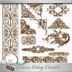 Wonderful Vintage Design Elements! Sadly not free... Invitation Fonts, Lace Invitations, Vintage Wedding Invitations, Wedding Stationary, Invites, Victorian Design, Victorian Fashion, Neo Victorian, Wedding Trends