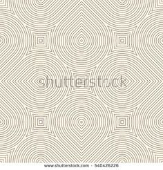 Outline ethnic and tribal abstract background. Seamless pattern with geometric ornament. Can be used for digital paper, textile print, page fill. Vector illustration