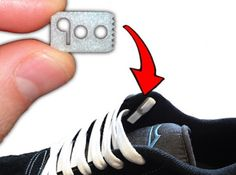 Never tie your shoelaces again with lace anchors.