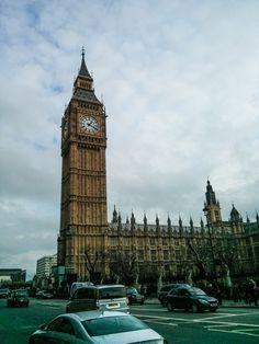 Blogue relatant une expérience à Londres