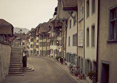 Die Halde in Aarau Most Beautiful Cities, Switzerland, Street View, City, City Drawing, Cities
