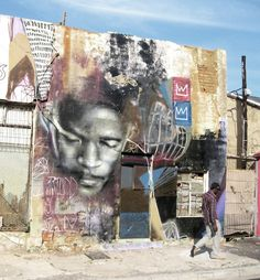 One of the most exciting aspects of street art is that it can be found anywhere in the world. Freddy Sam aka Ricky-Lee Gordon is a street artist based out of Cape Town, South Africa. He is the founder of the Write on Africa initiative, which aims to create artwork in Africa for inspiration, social change, and urban rejuvenation.