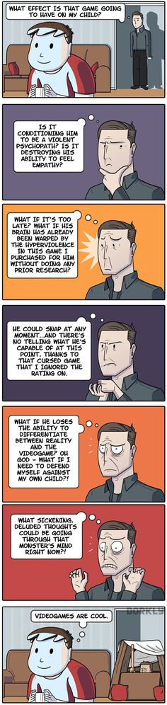 Parents and gaming…