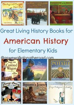 Looking for some great living books for studying American history with your kids? Informations About HUGE List of Great Living Books About American History For Elementary Kids Pin You can easily use m American History X, Teaching American History, Teaching History, European History, British History, History Books For Kids, History Lessons For Kids, Organizing Hacks, College Organization