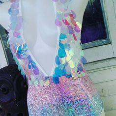 New Bodysuit created for @thelytecouture  so happy with the finale product!    ##theLYTE #theLYTEcouture #unicorn #bodysuit #sequin #holographic #ravewear #festivalseason #festivalfashion #fashion