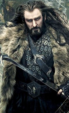 Thorin Oakenshield ~ This awesome picture needs to be seen again.  SO RIGHT