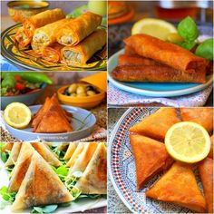 En ce premier jour du moi béni de Ramadhan, je vous propose une sélection de recettes variées facile et rapide deBourek(Bourak, bôrek), Brick mais aussi de pastilla aux feuilles de brick Dyoul, warka ou à la pâte filo à réaliser en entrée pourRamadan 2019pour accompagner les soupes (chorba,harira, velouté ou autre). Des recettestraditionnellesavec différentes farces; au thon, au fromage, à la viande hachée, au poulet, à la pomme de terre, aux légumes (sans viande), aux crevettes...