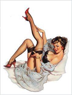 50's pin up girls art | 50's Pin-Up Hot Rod bespoke gear knobs - VZi, Europe's largest VW ...