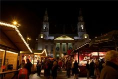 Leeds Christmas Market Copyright Leeds-City-Council. All the best Christmas Markets are on @ebdestinations #Christmas #Xmas #Europe #travel