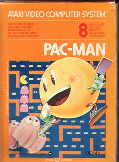 I will never forget when we got Pac Man for our Atari! My favorites were Pac*Man, Frogger, Donkey Kong, and Space Invaders/ My Childhood Memories, Childhood Toys, Great Memories, Vintage Video Games, Retro Video Games, Retro Games, Tennessee Williams, Pac Man, Pc Engine