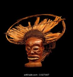 Chokwe Chihongo (Spirit of Wealth) Mask, Angola http://www.imodara.com/post/102101048724/angola-chokwe-chihongo-spirit-of-wealth-mask