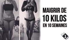 10 semaines pour maigrir de 10 kilos, c'est tout a fait possible et nous vous dévoilons un programme complet pour maigrir d'un kilos par semaine.