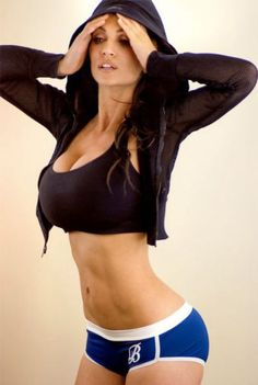 denise milani hot 16 Yesterday it was Jordan Carver doing yoga, today its Denise Milanis Facebook page (46 Photos)