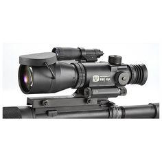 Armasight™ Night Vision 4X Gen 1+ Long Range Rifle Scope, Matte Black - 294000, Night Vision Scopes at Sportsman's Guide