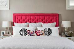 sadie + stella: Monday Musings: Monogrammed Bedding