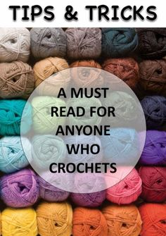Tips &Tricks for Crochet Tips, Tricks and Helpful and Useful Accessories and Tools for Crochet Full Post: Tips &Tricks for Croche. Crochet Stitches, Knit Crochet, Crochet Patterns, Prayer Shawl, Crochet Blocks, Crochet Projects, Crochet Tutorials, Pattern Blocks, Sewing Hacks