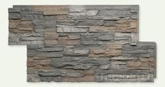 faux stone - over the brick (cheaper) or replacing the siding.