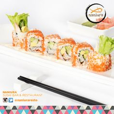 California Roll - Original Favourite all the time, cant resist with the delicious-ness | Naniura Sushibar  Restaurant Jln. Tarum Barat Kav. Agraria no. 6 Blok E/5 Kalimalang, Jakarta Timur 021-86611789 || Tag ur reviews #NaniuraSushi. #Sushi #CaliforniaRoll #Yummy #SushiLover