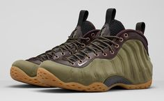 ca0d365139 Nike Foamposite One Premium 575420-200 Olive Green Wheat Lab Edition UK  14,US