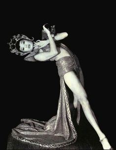 1920's Asian Dancer in Costume