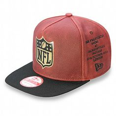 New Era NFL International Series Premium New Era x Wilson 9FIFTY Snapback  Techos 08b8eb2dfa6