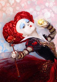 *QUEEN of HEARTS ~ Alice Through the Looking Glass