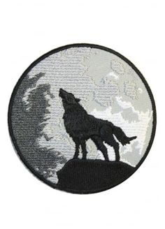 Extreme Largeness Wolf And Moon Patch , £1.99