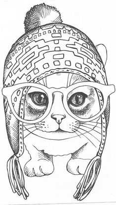 – Just cats coloring 2 - Malvorlagen Mandala Cat Coloring Page, Adult Coloring Book Pages, Animal Coloring Pages, Free Printable Coloring Pages, Free Coloring Pages, Coloring Sheets, Coloring Books, Cat Quilt, Cat Colors
